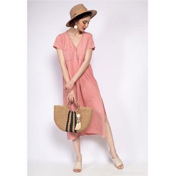 Abbigliamento Donna Abiti lunghi Fashion brands 6658-CORAIL Corail