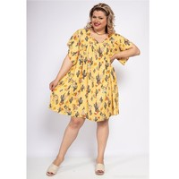 Abbigliamento Donna Abiti corti Fashion brands DIABOLE-COLOR-ONE-JAUNE Giallo