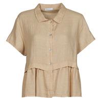 Abbigliamento Donna Top / Blusa Fashion brands 10998-BEIGE Beige