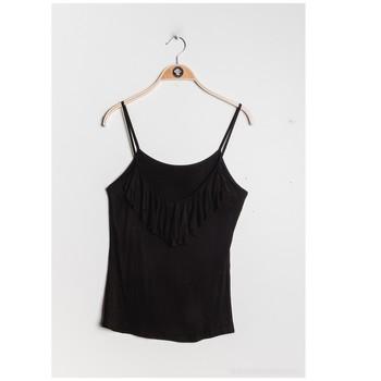 Abbigliamento Donna Top / Blusa Fashion brands D852-BLACK Nero