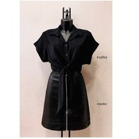 Abbigliamento Donna Top / Blusa Fashion brands ERMD-13819-N-BLACK Nero