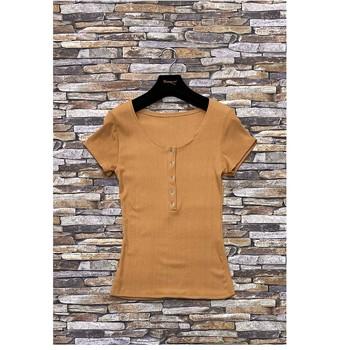Abbigliamento Donna Top / Blusa Fashion brands HS-2863-BROWN Marrone