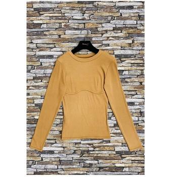 Abbigliamento Donna Top / Blusa Fashion brands HD-2813-N-BROWN Marrone