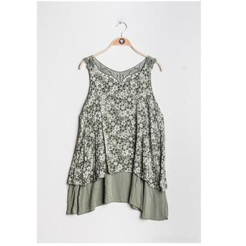 Abbigliamento Donna Top / Blusa Fashion brands 9673-KAKI Kaki