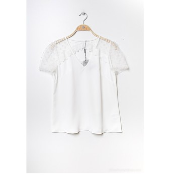Abbigliamento Donna Top / Blusa Fashion brands K5518-WHITE Bianco