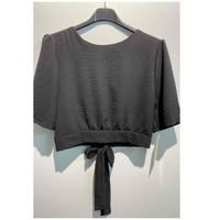 Abbigliamento Donna Top / Blusa Fashion brands 5172-BLACK Nero