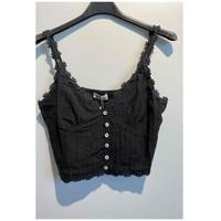 Abbigliamento Donna Top / Blusa Fashion brands 6133-BLACK Nero