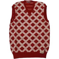 Abbigliamento Uomo Gilet / Cardigan Gas ATRMPN-28195 Rosso