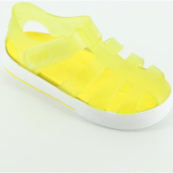 Scarpe Unisex bambino Scarpe acquatiche Igor S10171 sandalino gabbietta gomma Giallo