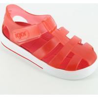 Scarpe Unisex bambino Scarpe acquatiche Igor S10171 sandalino gabbietta gomma Rosso