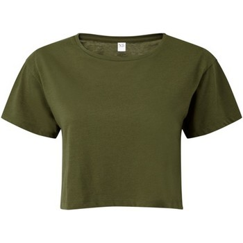Abbigliamento Donna Top / Blusa Tridri TR019 Oliva