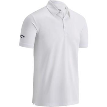 Abbigliamento Uomo Polo maniche corte Callaway CW025 Bianco