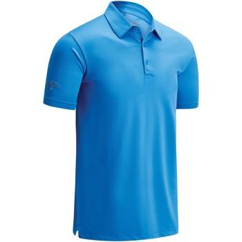 Abbigliamento Uomo Polo maniche corte Callaway CW025 Blu