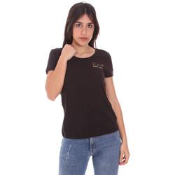 Abbigliamento Donna T-shirt maniche corte Ea7 Emporio Armani 8NTT65 TJ28Z Nero