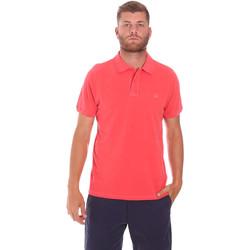 Abbigliamento Uomo Polo maniche corte Sundek M787PLPQ1TC Rosso