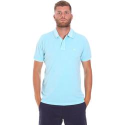 Abbigliamento Uomo Polo maniche corte Sundek M787PLPQ1TC Blu