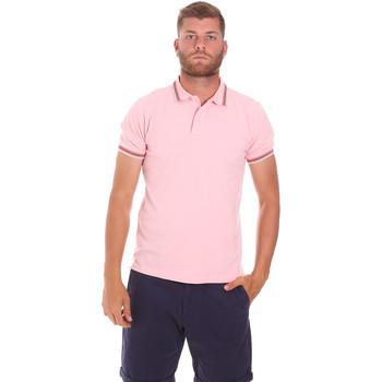 Abbigliamento Uomo Polo maniche corte Sundek M779PLJ6500 Rosa