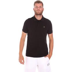 Abbigliamento Uomo Polo maniche corte Refrigiwear RM0T25900PQ9002 Nero
