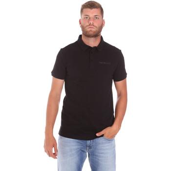 Abbigliamento Uomo Polo maniche corte Trussardi 52T00488-1T003603 Nero
