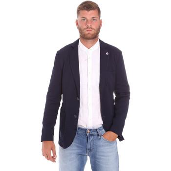 Abbigliamento Uomo Giacche Sseinse GAE716SS Blu
