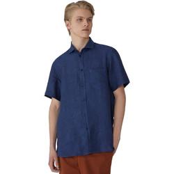 Abbigliamento Uomo Camicie maniche corte Trussardi 52C00213-1T002248 Blu