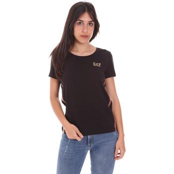 Abbigliamento Donna T-shirt maniche corte Ea7 Emporio Armani 3KTT51 TJ9VZ Nero