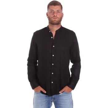 Abbigliamento Uomo Camicie maniche lunghe Refrigiwear RM0C10100LI9110 Nero
