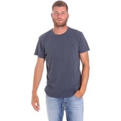Abbigliamento Uomo T-shirt maniche corte Lumberjack CM60343 021EU Blu