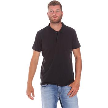 Abbigliamento Uomo Polo maniche corte Lumberjack CM45940 017EU Nero