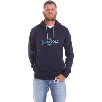 Abbigliamento Uomo Felpe Key Up 2F453 0001 Blu