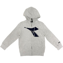 Abbigliamento Unisex bambino Felpe Diadora 102175893 Grigio