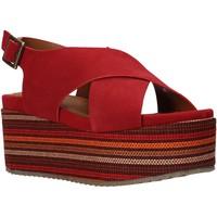 Scarpe Donna Sandali Onyx S20-SOX753 Rosso