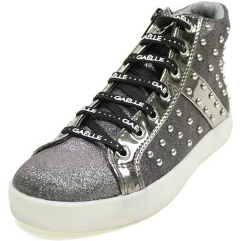 Scarpe Bambina Sneakers alte GaËlle Paris G430A GRIGIO