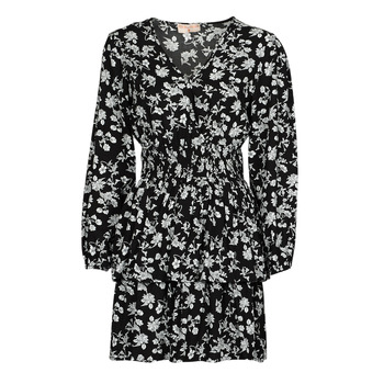 Abbigliamento Donna Abiti corti Moony Mood PAPIS Nero / Bianco