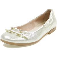 Scarpe Bambina Ballerine Andrea Morelli M4A350310 PLATINO
