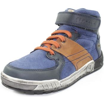 Scarpe Bambino Sneakers alte Garvalin 171691 BLU