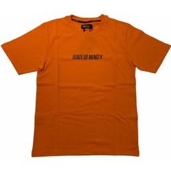 Abbigliamento Uomo T-shirt maniche corte 5Tate Of Mind 36303-XL Arancio