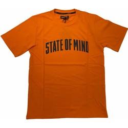 Abbigliamento Uomo T-shirt maniche corte 5Tate Of Mind 36325-XL Arancio