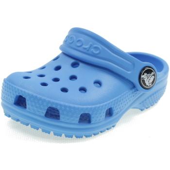 Scarpe Bambino Zoccoli Crocs CLASSIC CLOG BLU