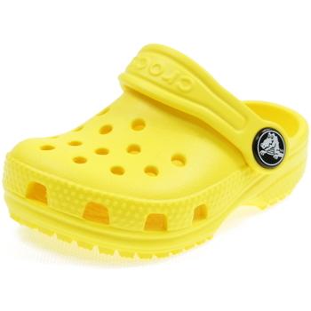 Scarpe Bambino Zoccoli Crocs CLASSIC CLOG GIALLO