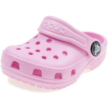 Scarpe Bambina Zoccoli Crocs CLASSIC CLOG ROSA