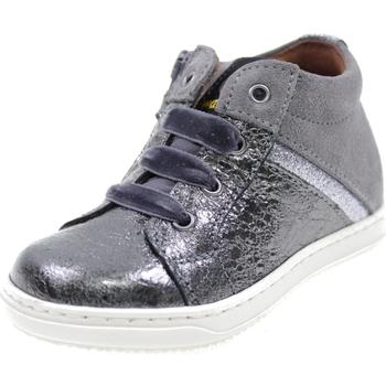 Scarpe Bambina Sneakers alte Walkey Y1A440116 ANTRACITE