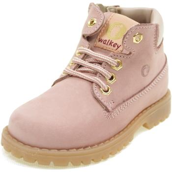 Scarpe Bambina Stivaletti Walkey Y1B440012 ROSA