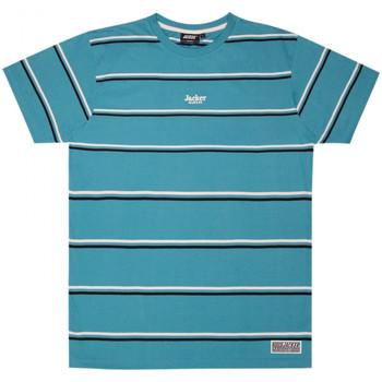 Abbigliamento Uomo T-shirt maniche corte Jacker Poh stripes Blu