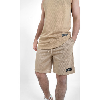 Abbigliamento Uomo Shorts / Bermuda Sixth June Short  Mesh beige