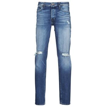 Abbigliamento Uomo Jeans slim Jack & Jones JJITIM JJORIGINAL Blu / Medium