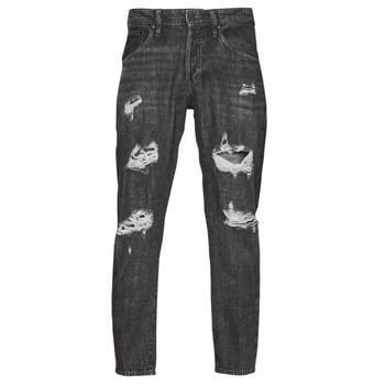 Abbigliamento Uomo Jeans slim Jack & Jones JJIFRANK JJLEEN Nero