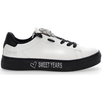 Scarpe Donna Sneakers basse Sweet Years 803 BIANCO