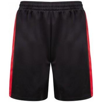Abbigliamento Uomo Shorts / Bermuda Finden & Hales LV885 Nero/Rosso