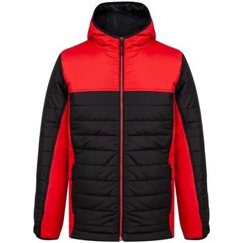 Abbigliamento Uomo Piumini Finden & Hales LV660 Nero/Rosso